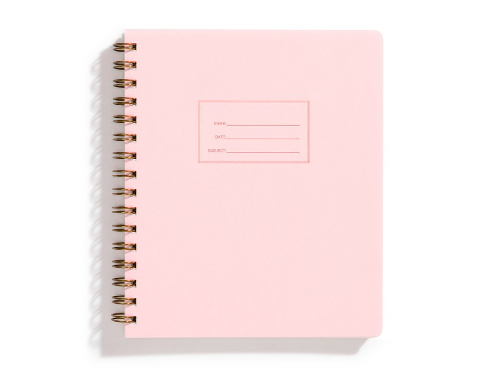 Notebook: Iron Curtain Press (Pink Lemonade)