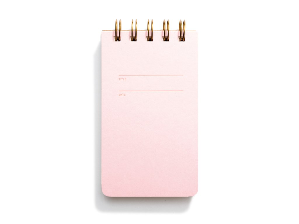 Reporter Notebook (Pink Lemondade)