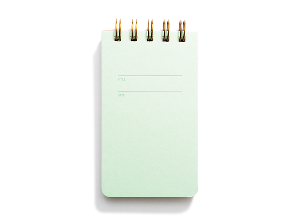 Reporter Notebook (Mint)