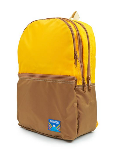 Nilson Backpack - Saffron/Chocolate