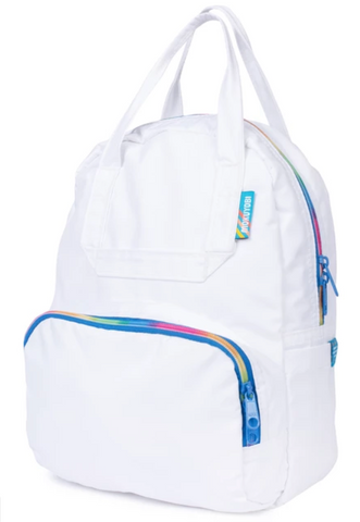 Mini Atlas Backpack - White/Rainbow