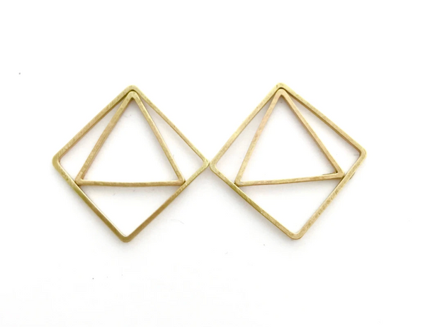 Deco Shield Earrings