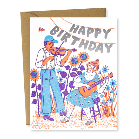 Birthday Card: Happy Birthday