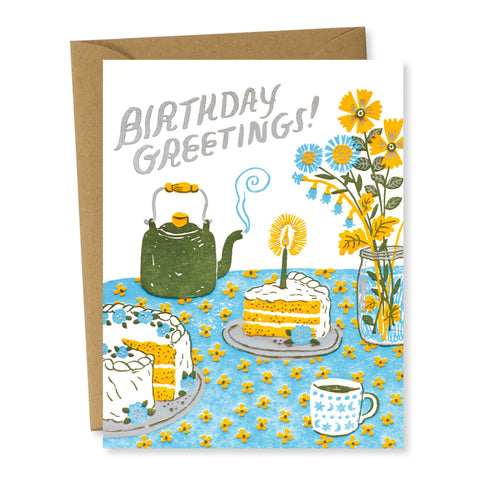 Birthday Card: Birthday Greetings