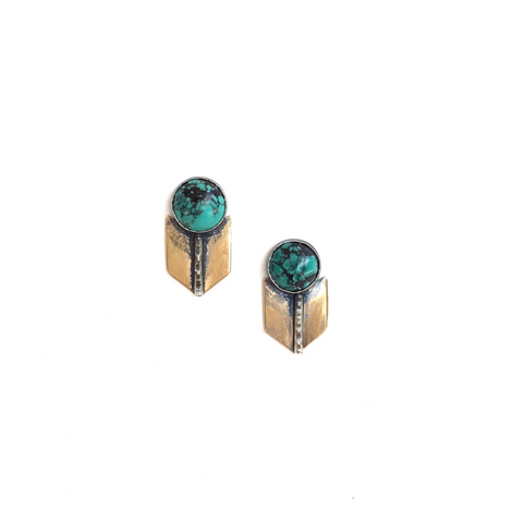 Archer Studs - Turquoise
