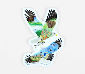Sticker - Bald Eagle Islands