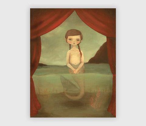 ART PRINT: The Fiji Mermaid - Emily Winfield Martin