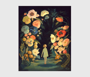 ART PRINT: Night Garden - Emily Winfield Martin