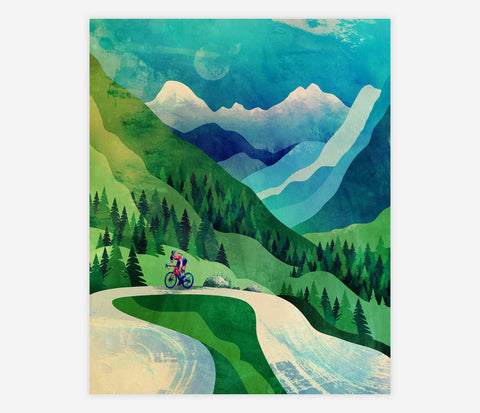 ART PRINT: Cyclist - Durido