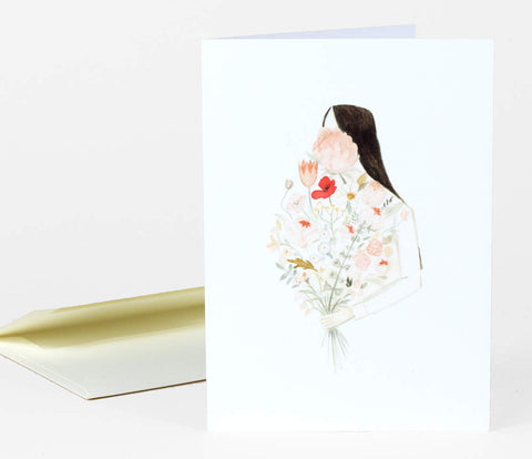 Greeting Card: Bouquet