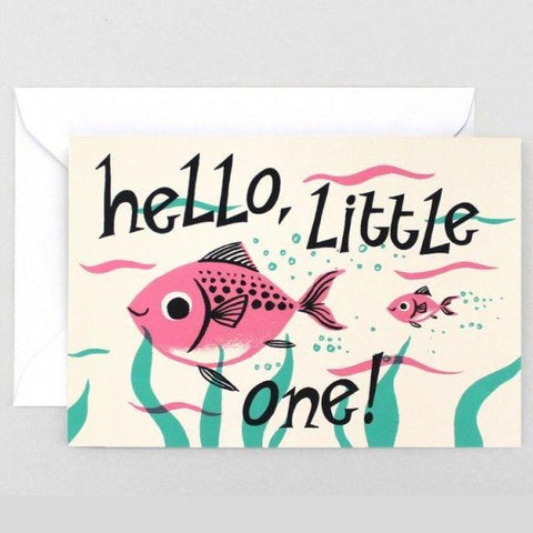 Baby Card: Hello, Little One