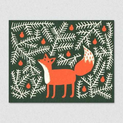 Holiday Card: Forest Fox