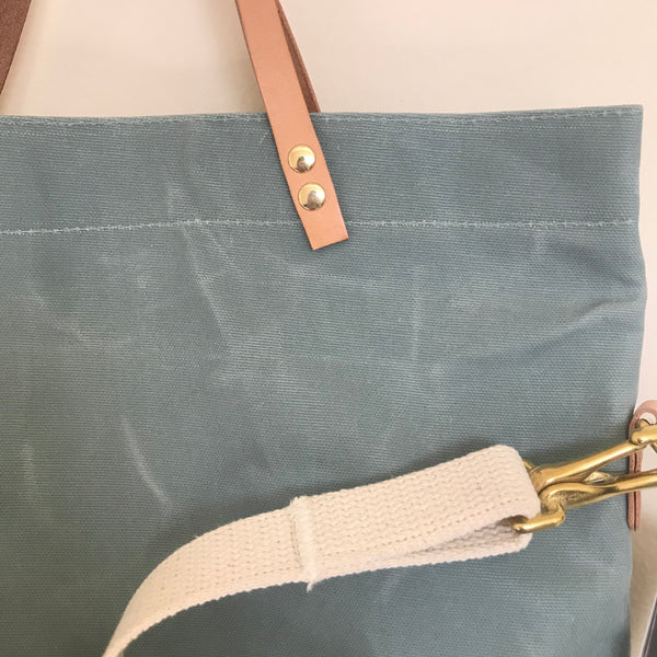 Waxed Canvas Field Bag - Sage