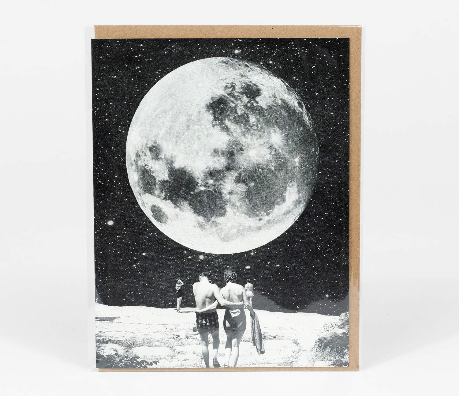 Greeting Card: Honeymoon