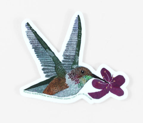Sticker - Hummingbird