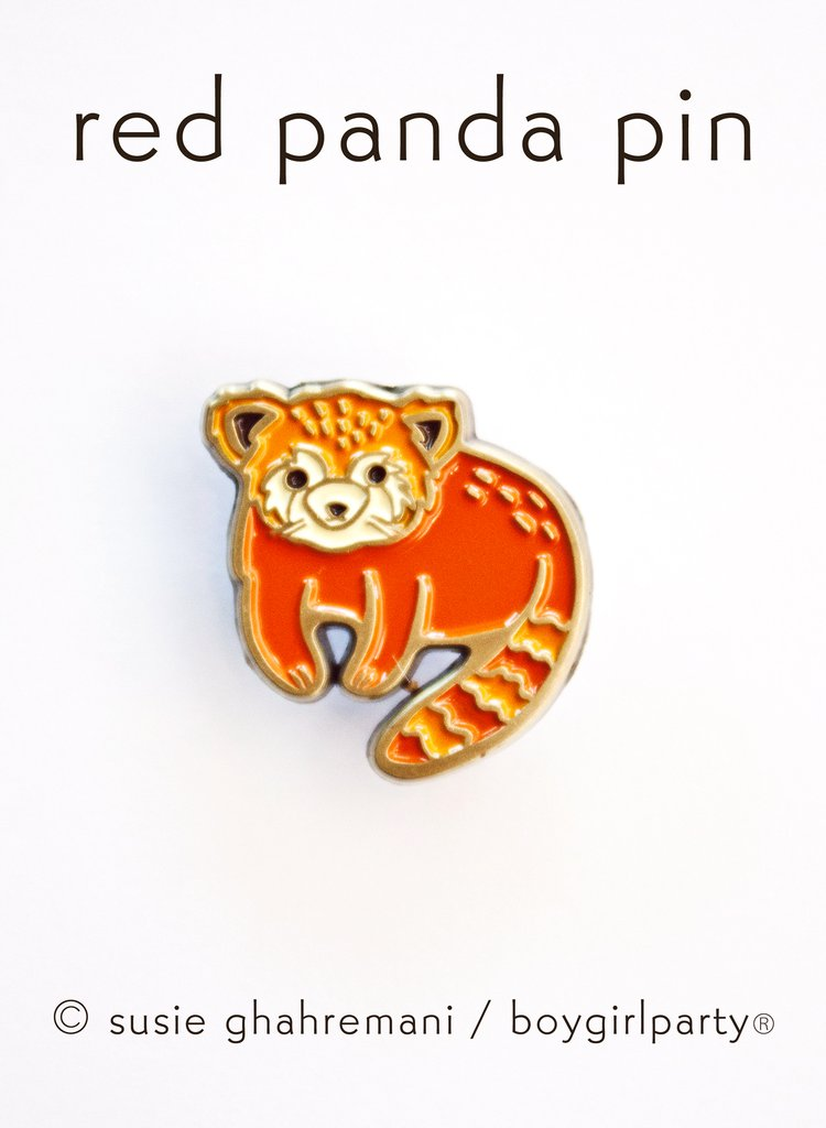 Enamel Pin: Red Panda