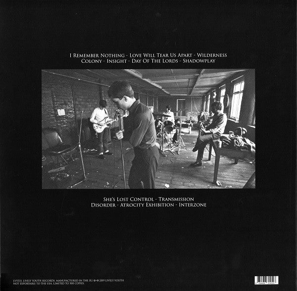 Joy Division - This Is The Room: Live Electric Ballroom London October 26, 1979