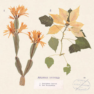 "Juliana Hatfield - ""Christmas Cactus""/""Red Poinsettia"" (RSD Black Friday 2020)"