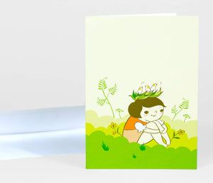 Greeting Card: Taking Roots