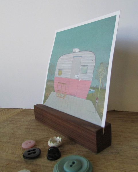ART (Pocket) PRINT: Ol' Pinky - by Heather Sundquist Hall