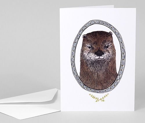 Greeting Card: Otter