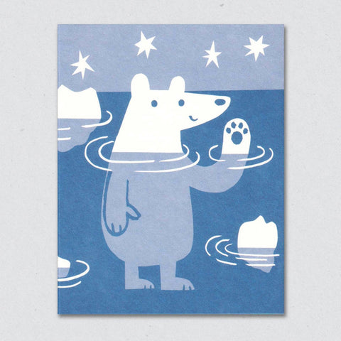 Greeting Card: Polar Bear
