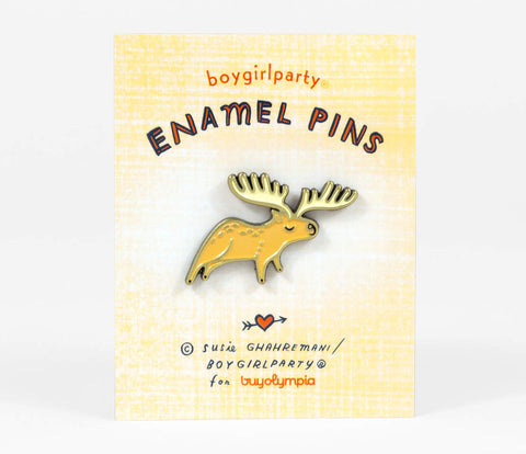 Enamel Pin: Moose