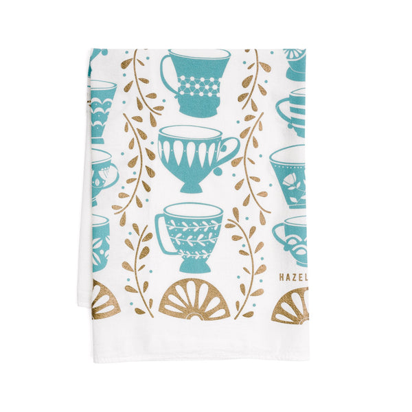 Tea Towel - Tea Cups