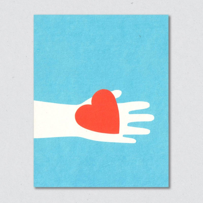 Greeting Card: Heart