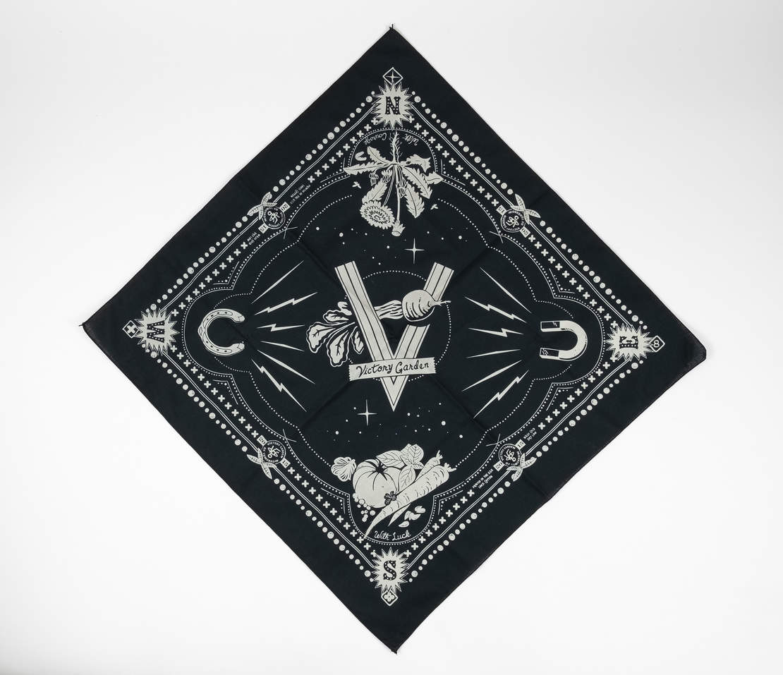 Lucky Bandana - Black