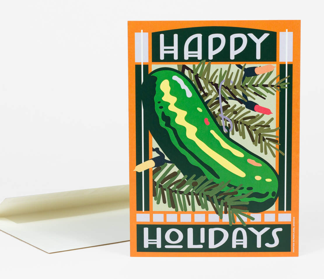 Holiday Card: Pickle