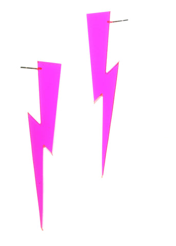 Earrings - Lightning Bolts (3 color options)