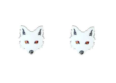 Earrings - Wolves