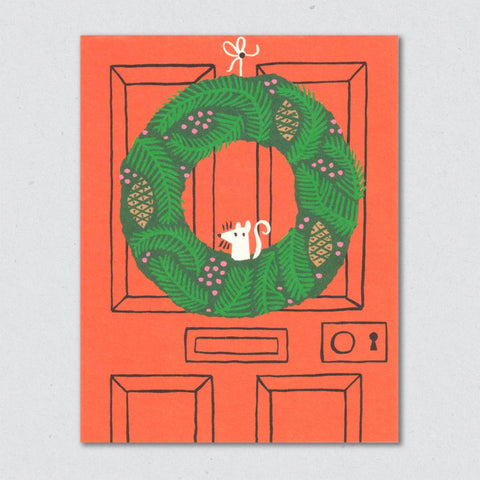 Holiday Card: Wreath