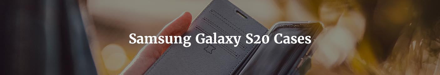 The best leather case for Samsung Galaxy S20