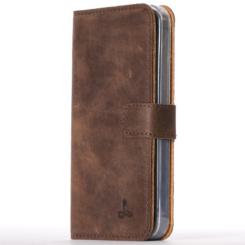 Vintage Leather Wallet - Apple iPhone 5/5S