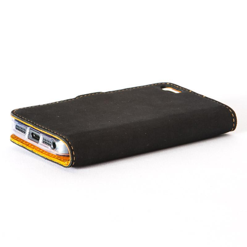 Vintage Two Tone Leather Wallet - Apple iPhone 5/5S