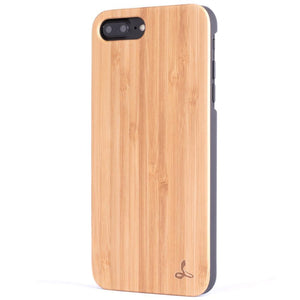 Bamboo Wood Back Case - iPhone 8 Plus - Snakehive