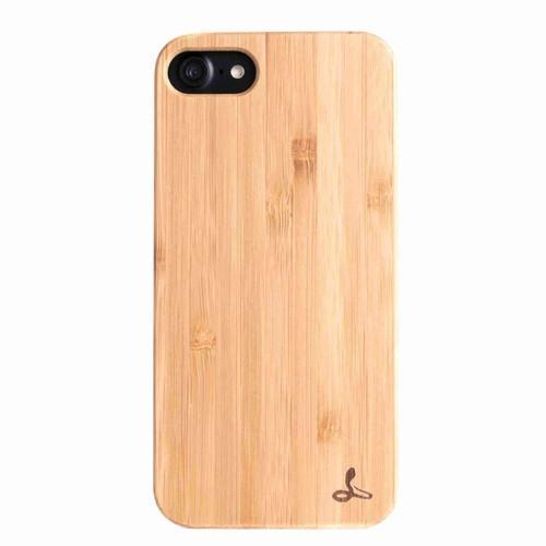 Bamboo Wood Back Case - Apple iPhone 8 - Snakehive