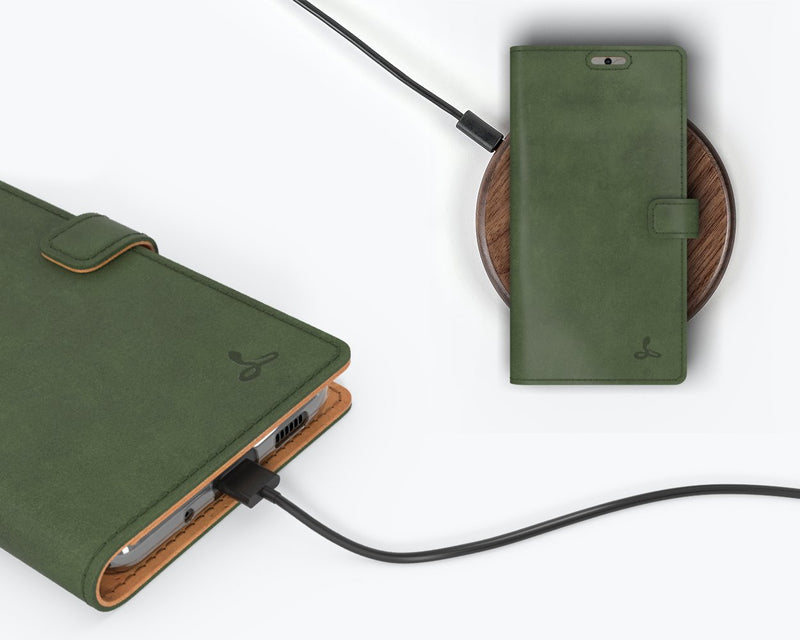 Vintage Leather Wallet - Samsung Galaxy S20 FE