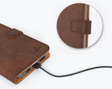 Vintage Leather Wallet - Apple iPhone 12