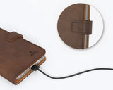 Vintage Leather Wallet - Apple iPhone 6/6S