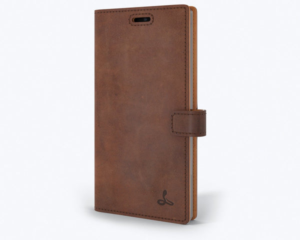 Vintage Leather Wallet - Samsung Galaxy Note 10