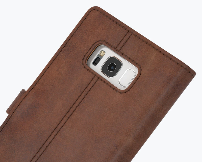 Vintage Leather Wallet - Samsung Galaxy S8