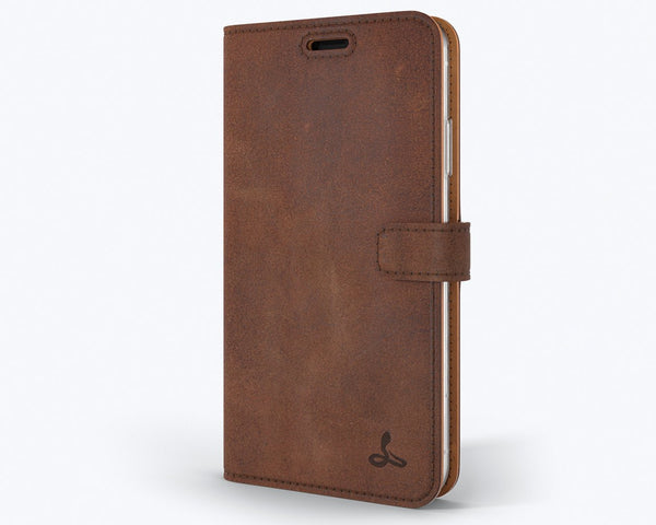 Vintage Leather Wallet - Apple iPhone XR