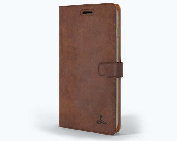 Vintage Leather Wallet - Apple iPhone 8 Plus