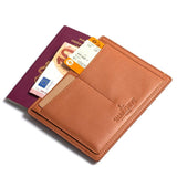 LEATHER PASSPORT HOLDER - THE ESSENTIAL COLLECTION