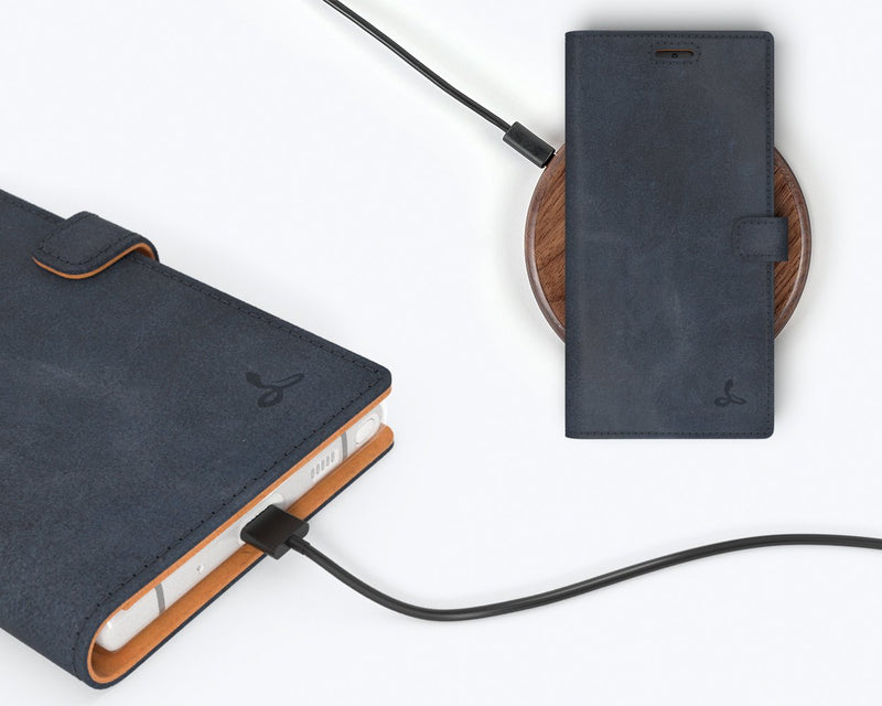 Vintage Leather Wallet - Samsung Galaxy Note 10 Plus