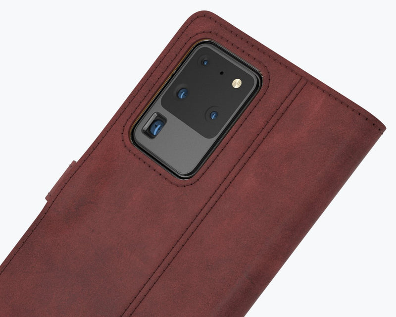 Vintage Leather Wallet - Samsung Galaxy S20 Ultra
