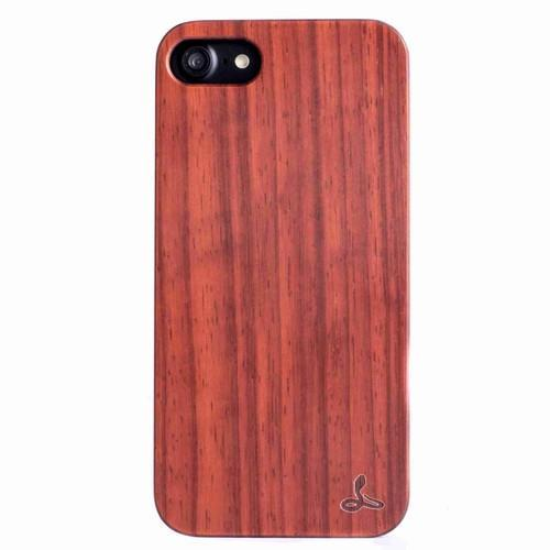 Rosewood Wood Back Case - Apple iPhone 7 - Snakehive